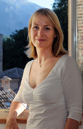 Christine Toomey in Italy