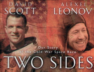 Two sides book cover